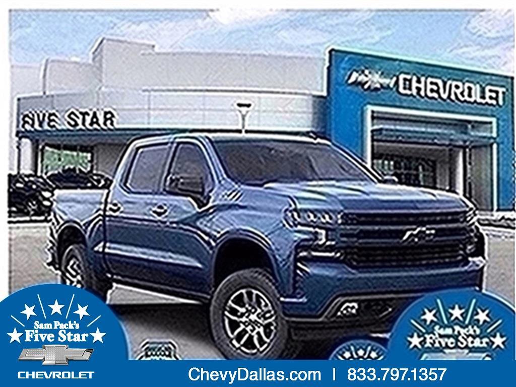 2021 Chevrolet Silverado 1500 Crew Cab 4x4, Pickup #MZ342223 - photo 1