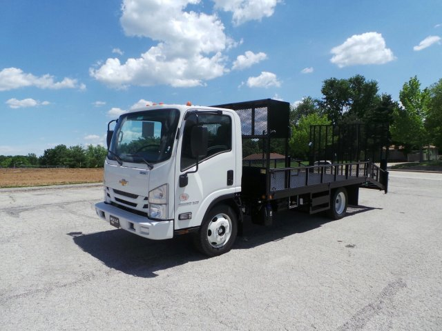2017 LCF 4500XD Regular Cab, Economy MFG Co. Dovetail Landscape #C14935 - photo 9