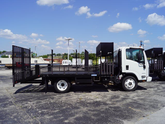 2016 LCF 4500 Regular Cab 4x2,  Economy MFG Co. Dovetail Landscape #C15204 - photo 8