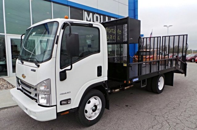 2016 LCF 4500 Regular Cab, Economy MFG Co. Dovetail Landscape #C15204 - photo 7
