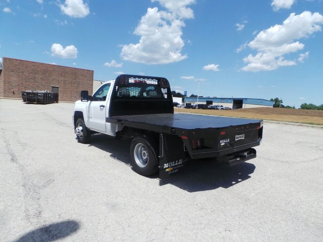 2017 Silverado 3500 Regular Cab DRW 4x4, Knapheide Platform Body #C15632 - photo 6