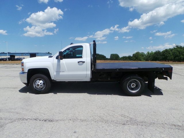 2017 Silverado 3500 Regular Cab DRW 4x4, Knapheide Platform Body #C15632 - photo 7
