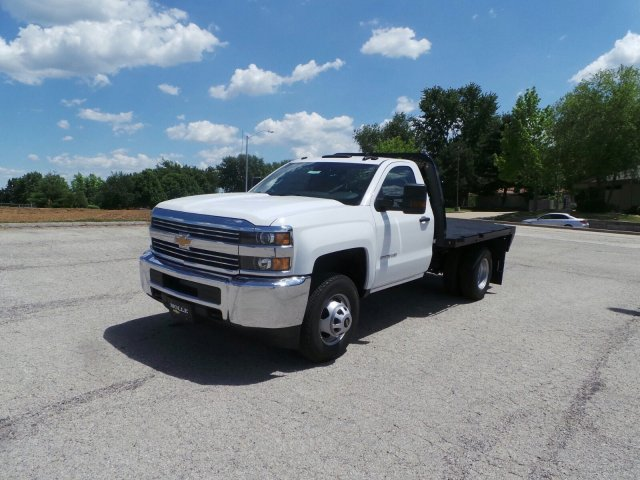 2017 Silverado 3500 Regular Cab DRW 4x4, Knapheide Platform Body #C15632 - photo 8