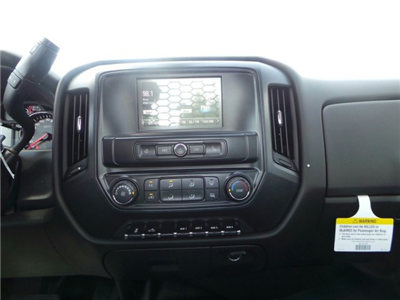 2017 Silverado 3500 Regular Cab DRW 4x4, Knapheide PGNB Gooseneck Platform Body #C15632 - photo 14