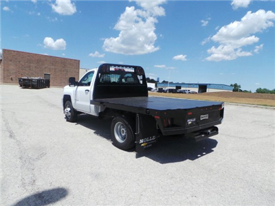 2017 Silverado 3500 Regular Cab DRW 4x4, Knapheide PGNB Gooseneck Platform Body #C15632 - photo 6