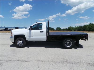 2017 Silverado 3500 Regular Cab DRW 4x4, Knapheide PGNB Gooseneck Platform Body #C15632 - photo 7