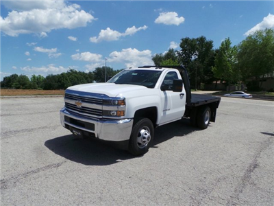 2017 Silverado 3500 Regular Cab 4x4, Knapheide PGNB Gooseneck Platform Body #C15632 - photo 8