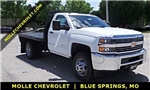 2017 Silverado 3500 Regular Cab DRW 4x4, Knapheide Platform Body #C15632 - photo 1