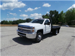 2017 Silverado 3500 Regular Cab DRW 4x4, Knapheide PGNB Gooseneck Platform Body #C15632 - photo 8