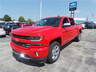2017 Silverado 1500 Crew Cab 4x4 Pickup #C15872 - photo 8