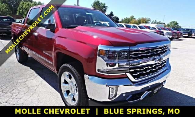 2018 Silverado 1500 Crew Cab 4x4 Pickup #C15903 - photo 1