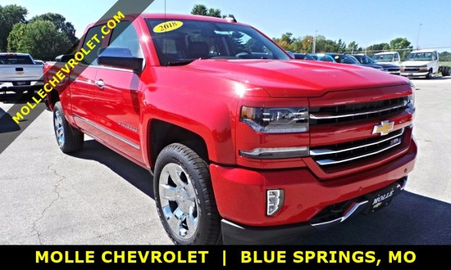 2018 Silverado 1500 Crew Cab 4x4 Pickup #C15926 - photo 1