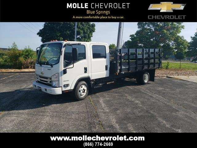 2020 Chevrolet LCF 3500 Crew Cab DRW 4x2, Economy MFG Co. Stake Bed #C18301 - photo 1