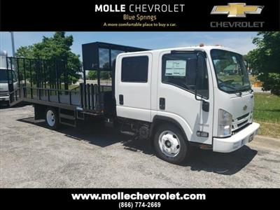 2020 Chevrolet LCF 4500 Crew Cab 4x2, Economy MFG Co. Dovetail Landscape #C18469 - photo 1