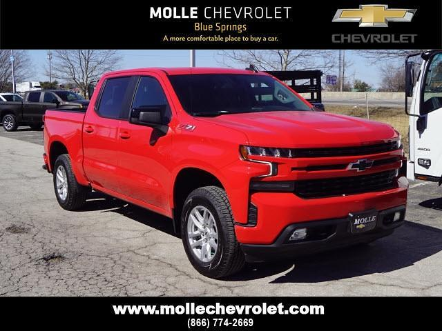 2021 Chevrolet Silverado 1500 Crew Cab 4x4, Pickup #C19094 - photo 1
