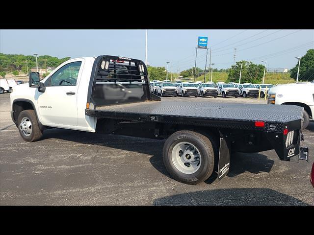 2021 Chevrolet Silverado 3500 Regular Cab 4x4, CM Truck Beds Platform Body #C19494 - photo 2