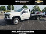 2021 Chevrolet Silverado 3500 Regular Cab 4x4, CM Truck Beds Platform Body #C19494 - photo 1