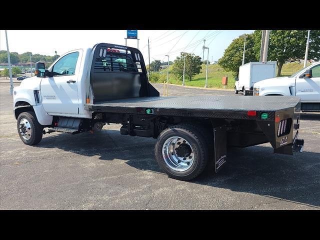2021 Silverado 4500 Regular Cab DRW 4x4,  CM Truck Beds Platform Body #C19554 - photo 2