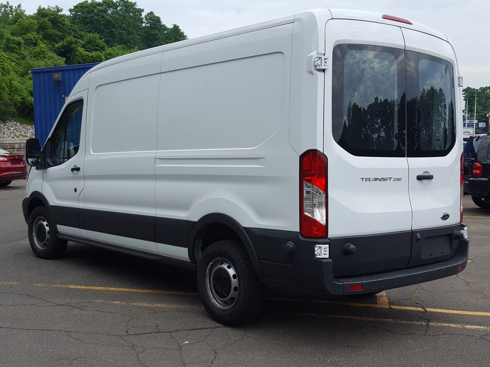 2017 Transit 250 Medium Roof Cargo Van #AT7193 - photo 2
