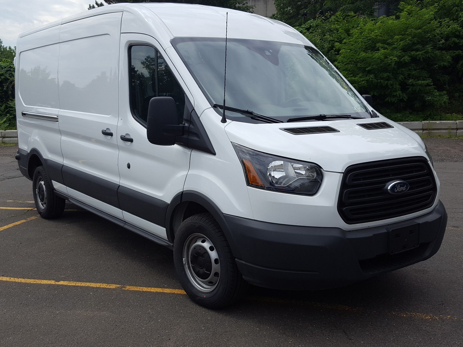 2017 Transit 250 Medium Roof Cargo Van #AT7193 - photo 8