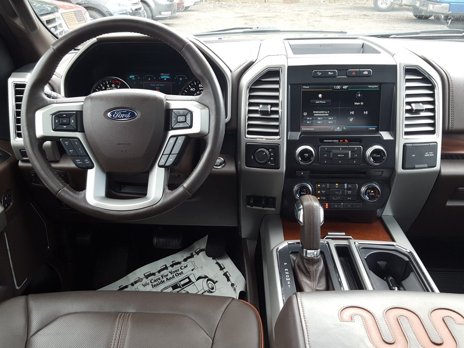 2015 F-150 SuperCrew Cab 4x4,  Pickup #AT7467 - photo 8
