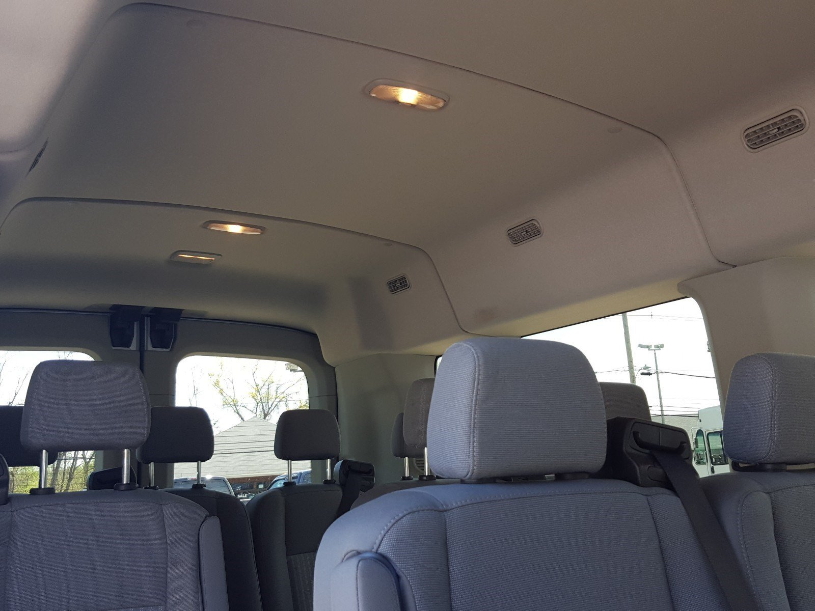 2017 Transit 350 Med Roof, Passenger Wagon #AT7474 - photo 9