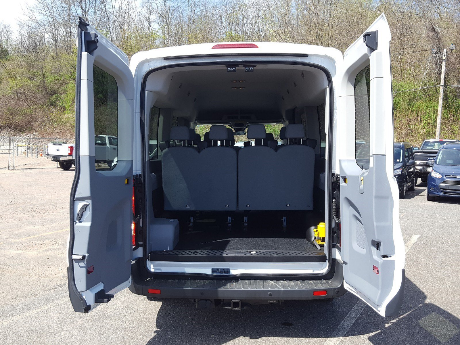 2017 Transit 350 Med Roof, Passenger Wagon #AT7474 - photo 3