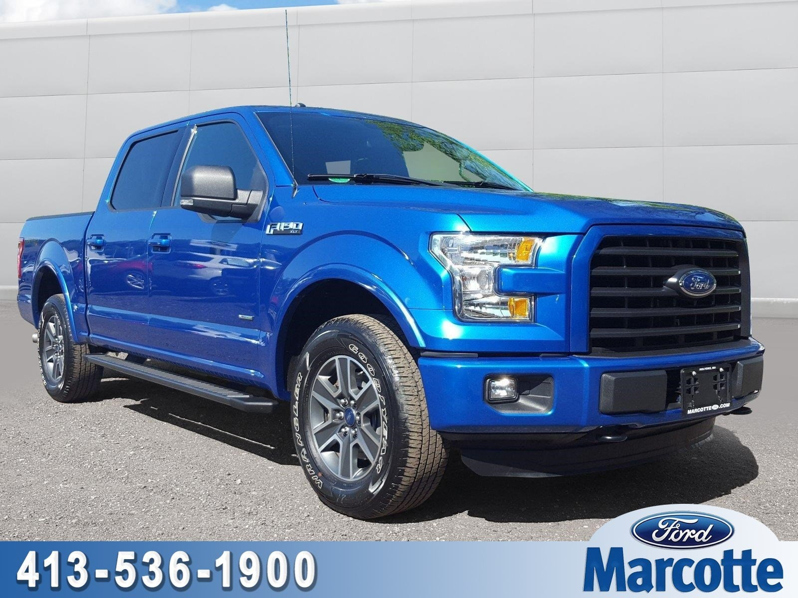 2016 F-150 SuperCrew Cab 4x4,  Pickup #AT7538 - photo 1