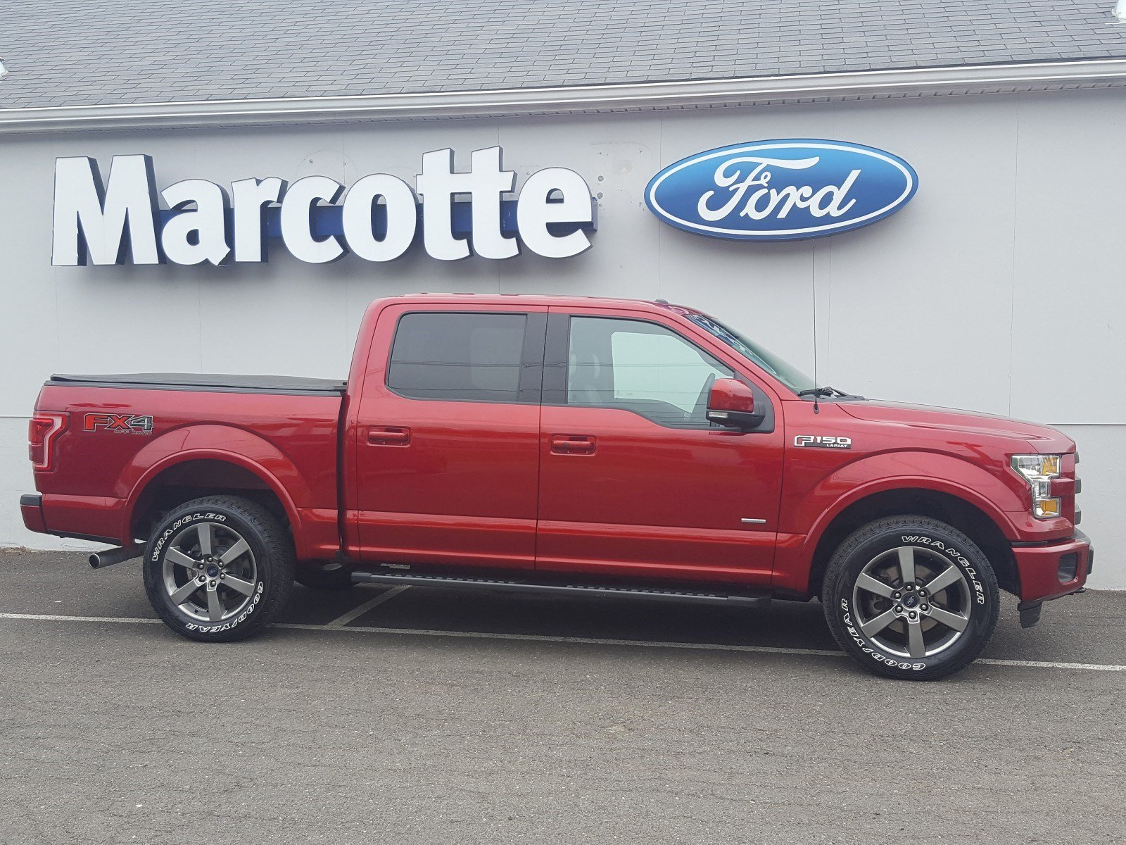 2015 F-150 SuperCrew Cab 4x4, Pickup #AT7540 - photo 3