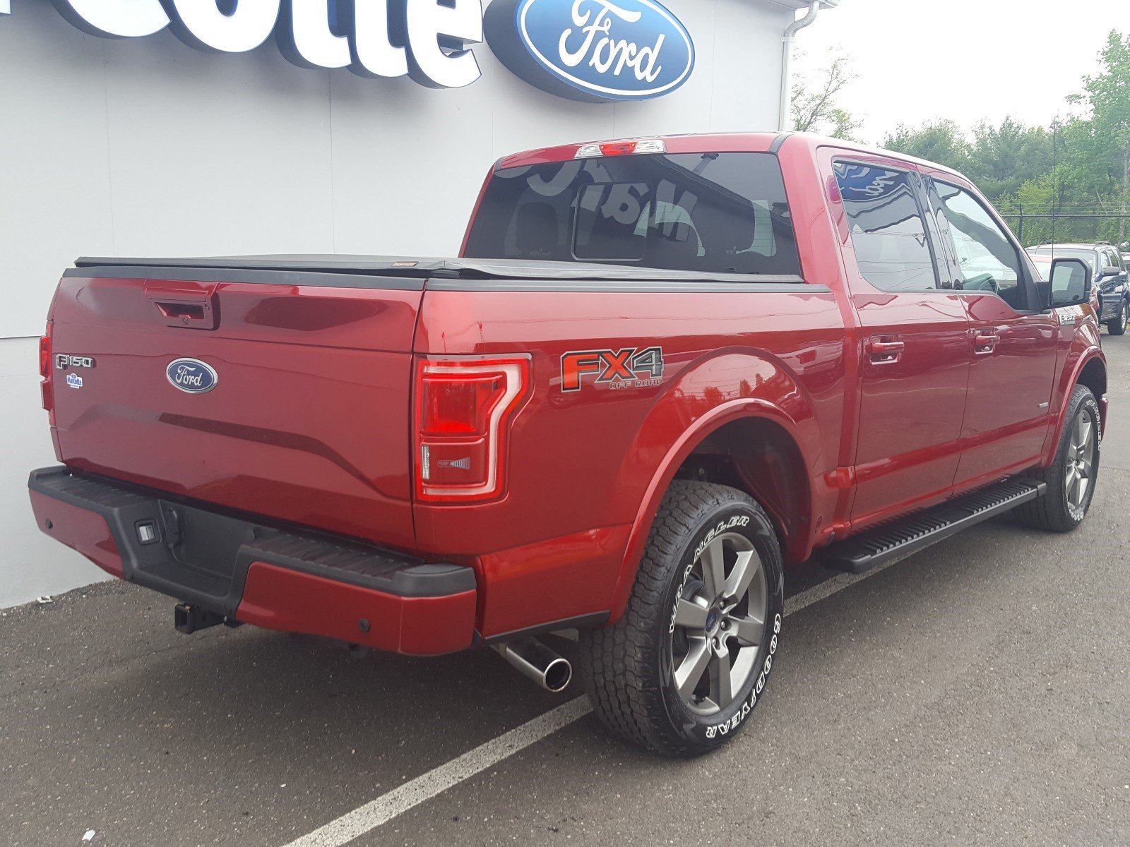 2015 F-150 SuperCrew Cab 4x4, Pickup #AT7540 - photo 2