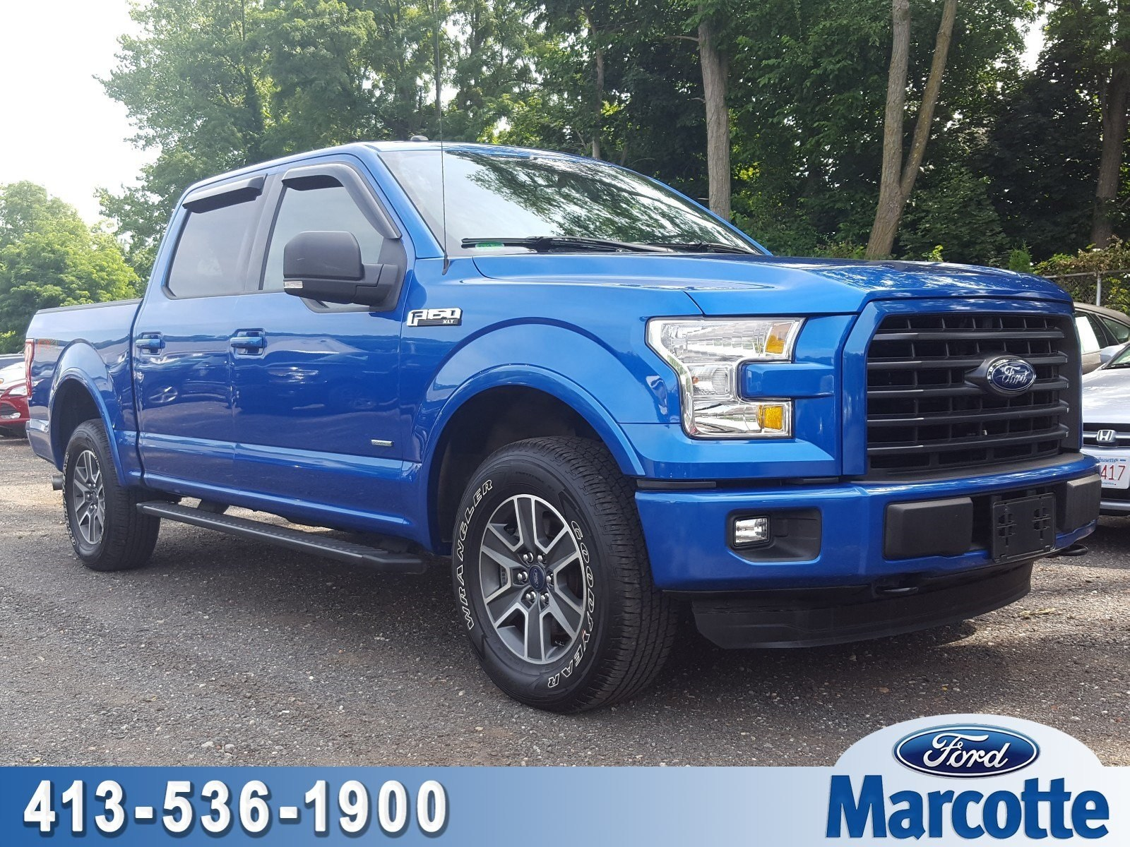 2016 F-150 SuperCrew Cab 4x4,  Pickup #AT7635 - photo 1
