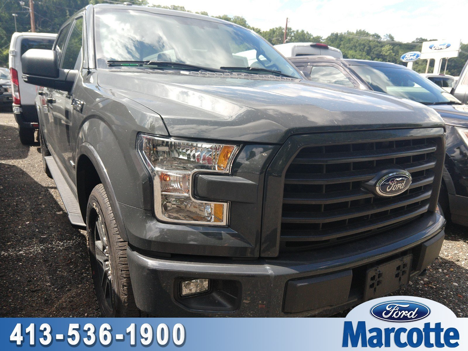 2016 F-150 SuperCrew Cab 4x4,  Pickup #AT7668 - photo 1
