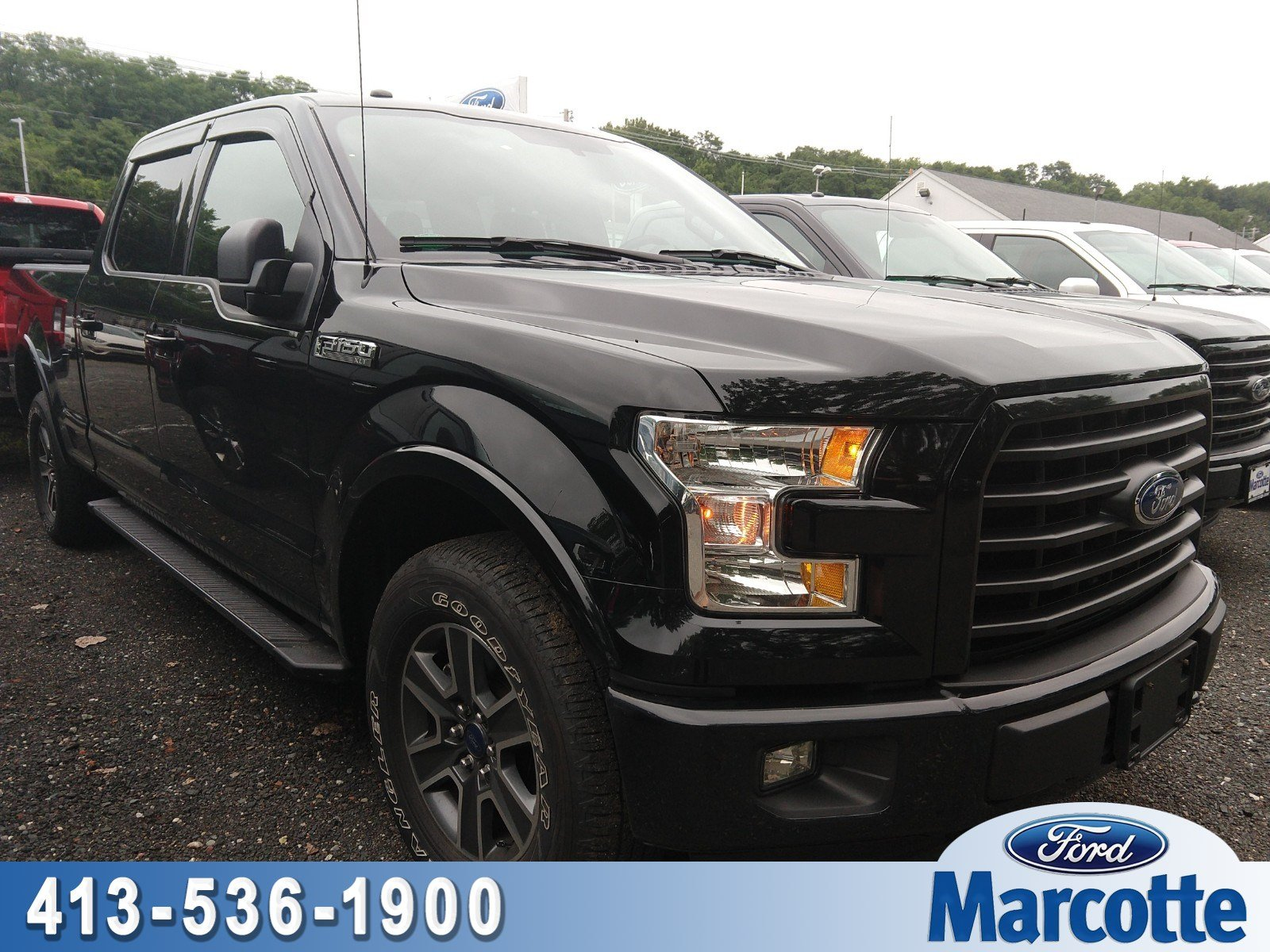 2016 F-150 SuperCrew Cab 4x4,  Pickup #AT7682 - photo 1