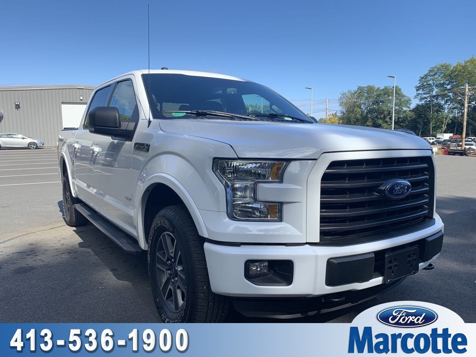 2016 F-150 SuperCrew Cab 4x4,  Pickup #AT8169 - photo 1