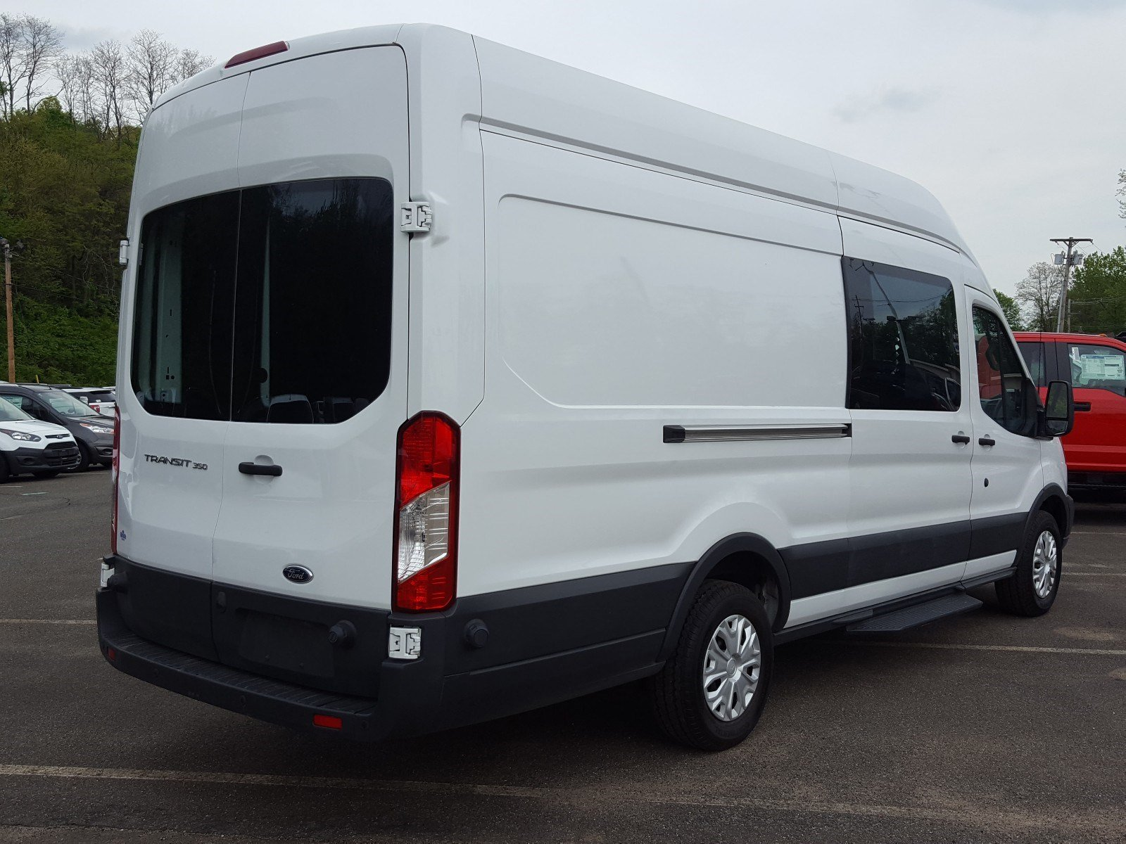 2017 Transit 350 High Roof, Upfitted Van #PBT1625 - photo 2