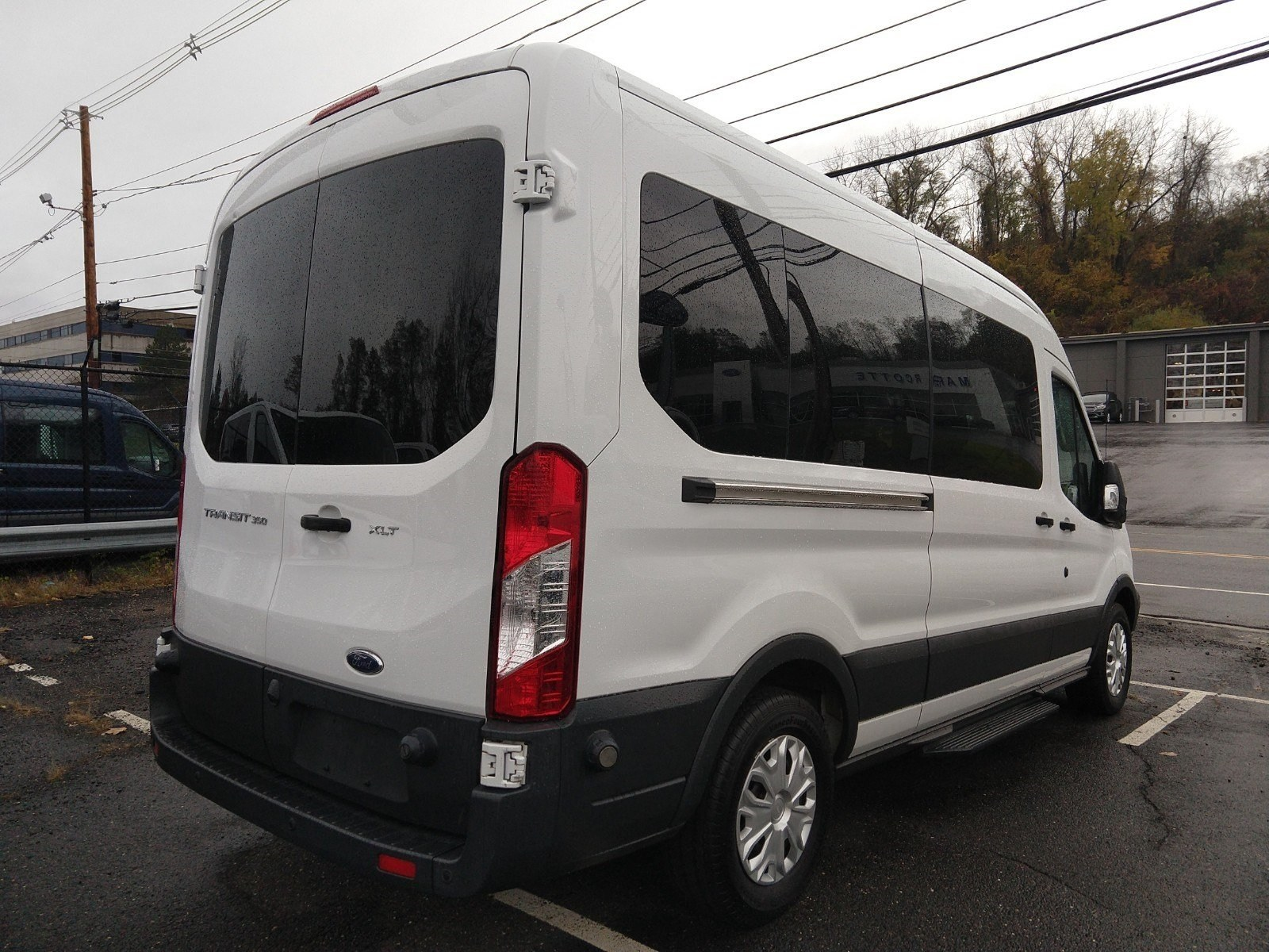 2016 Transit 350 Med Roof 4x2,  Passenger Wagon #PBT1635 - photo 2