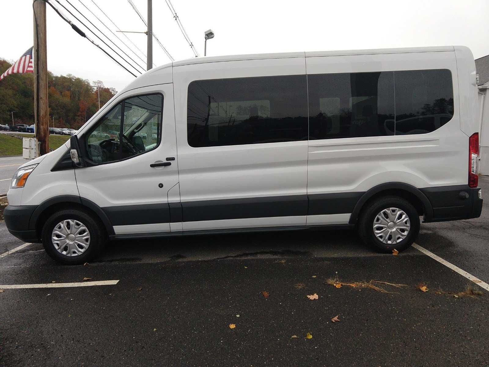 2016 Transit 350 Med Roof 4x2,  Passenger Wagon #PBT1635 - photo 3