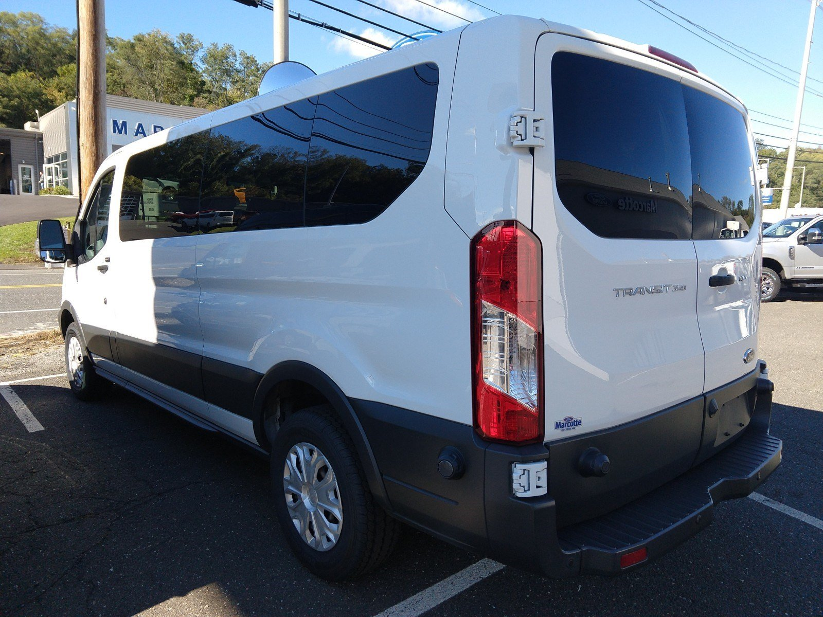 2016 Transit 350 Low Roof 4x2,  Passenger Wagon #PBT1649 - photo 3