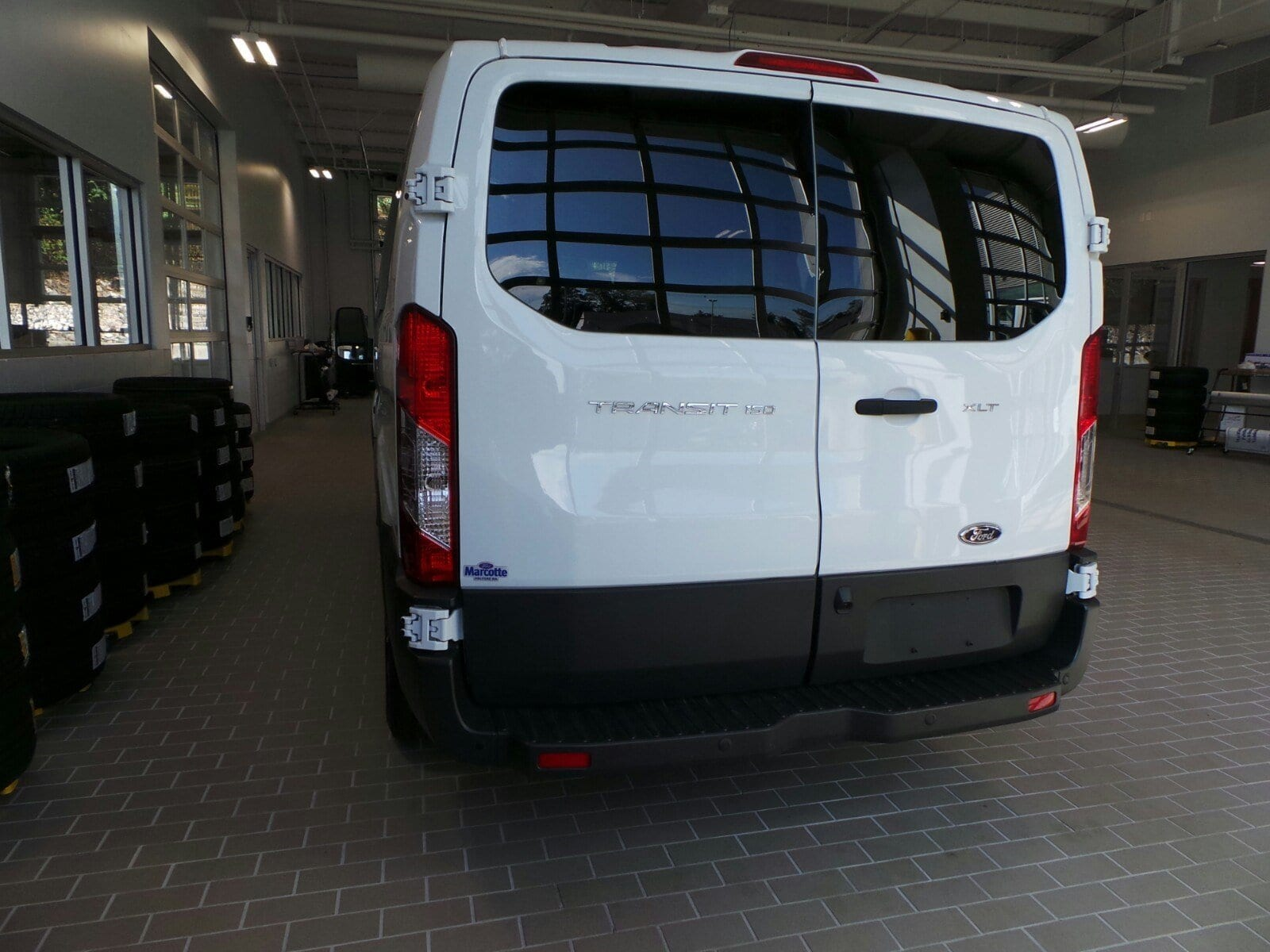2017 Transit 150 Low Roof 4x2,  Passenger Wagon #PBT1656 - photo 3