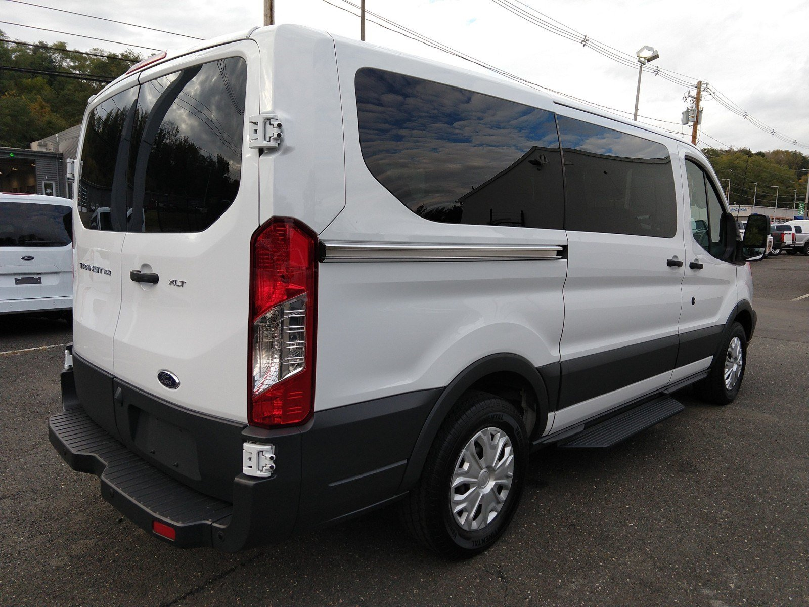 2017 Transit 150 Low Roof 4x2,  Passenger Wagon #PBT1656 - photo 2