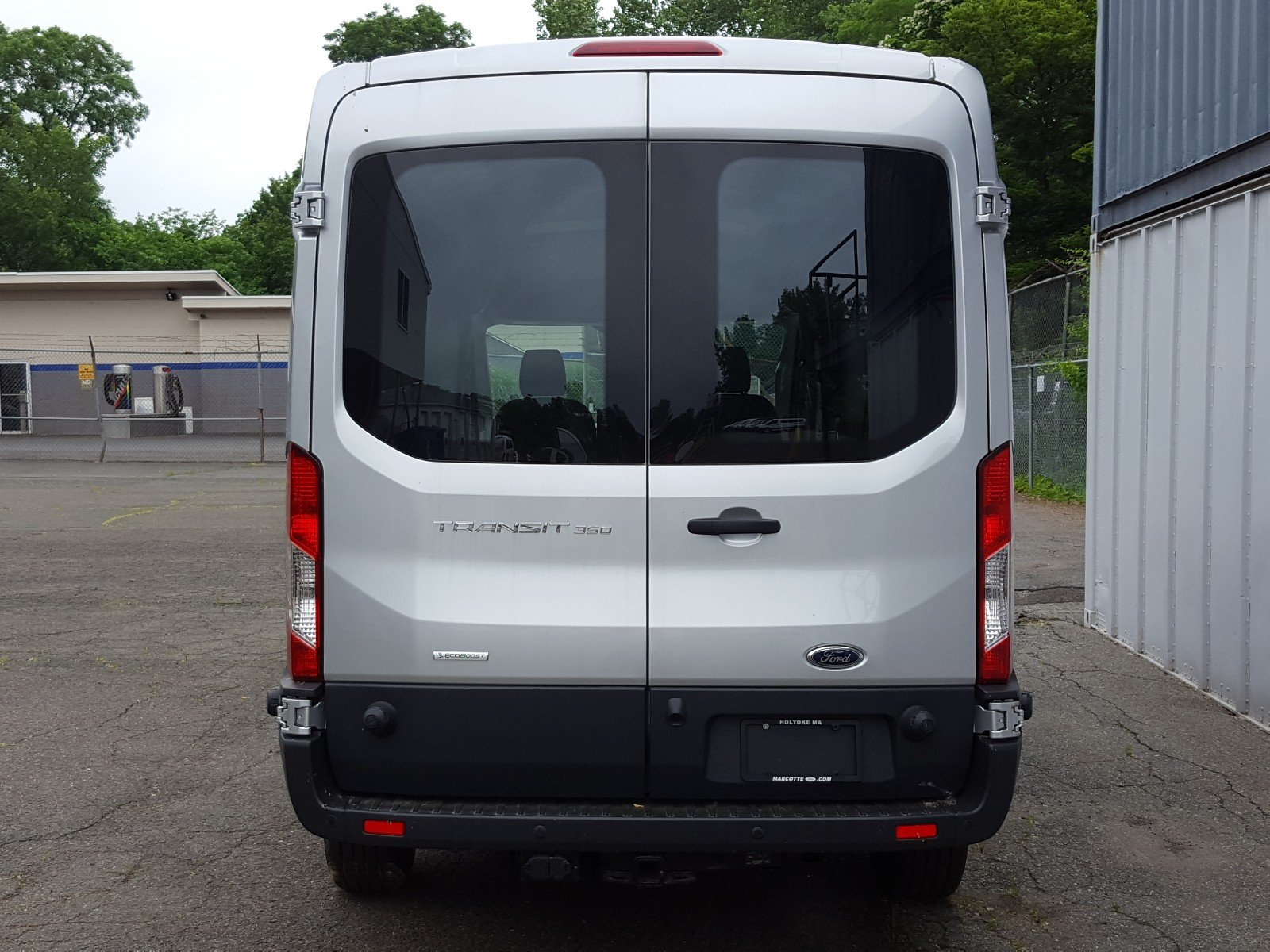2017 Transit 350 Medium Roof Cargo Van #Q7390 - photo 5