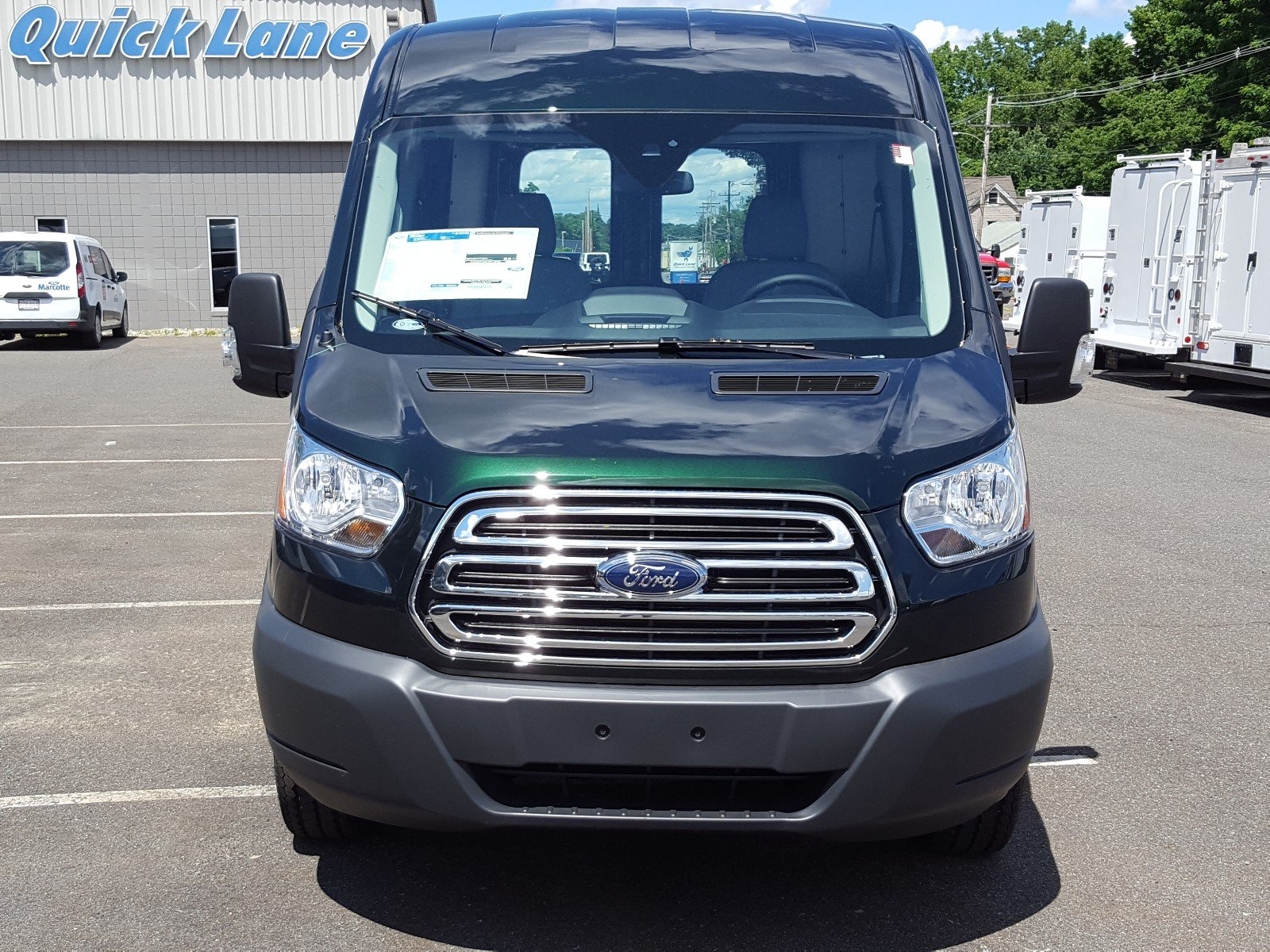 2017 Transit 250 Medium Roof Cargo Van #Q7675 - photo 9