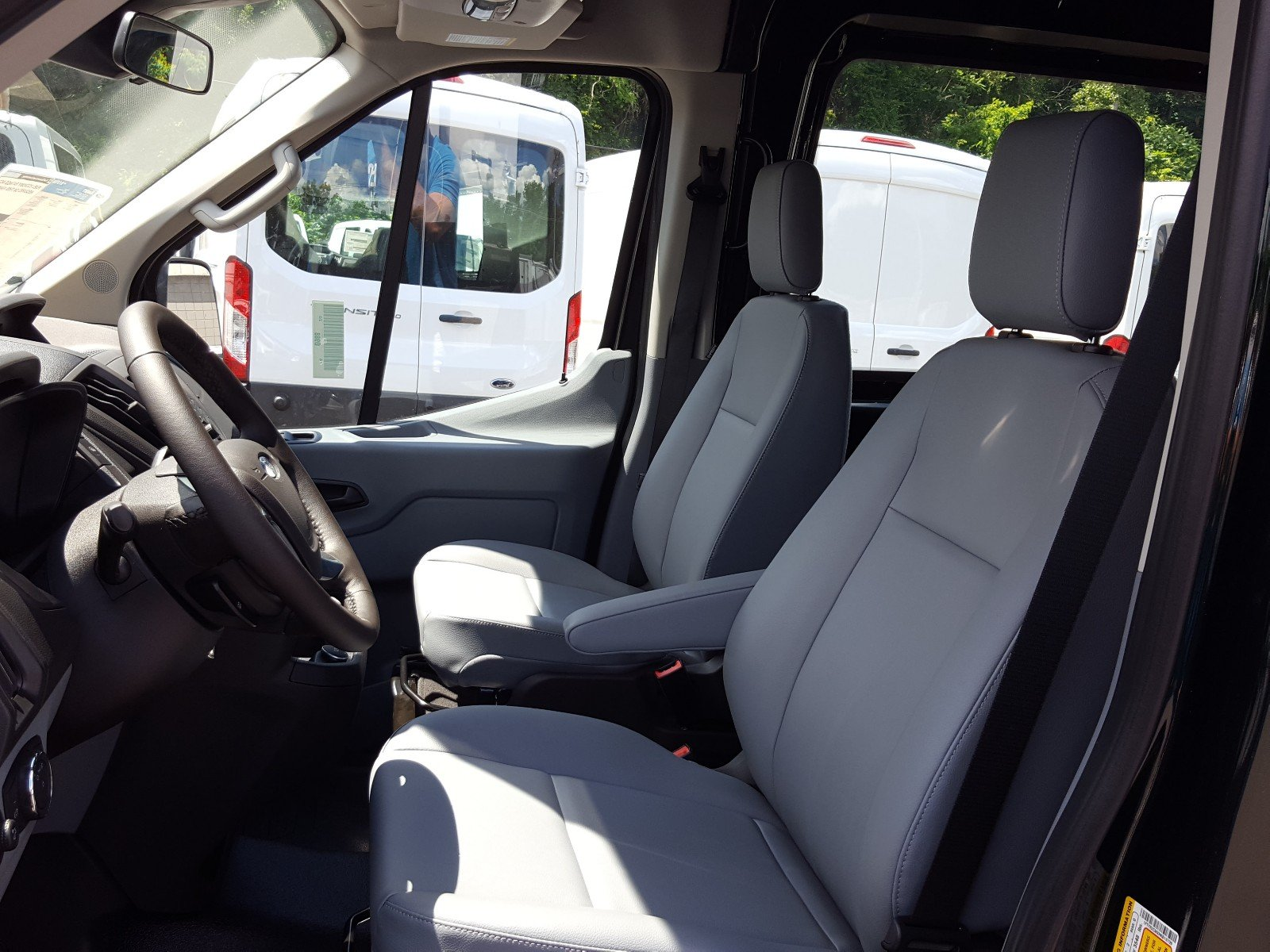 2017 Transit 250 Medium Roof Cargo Van #Q7675 - photo 11