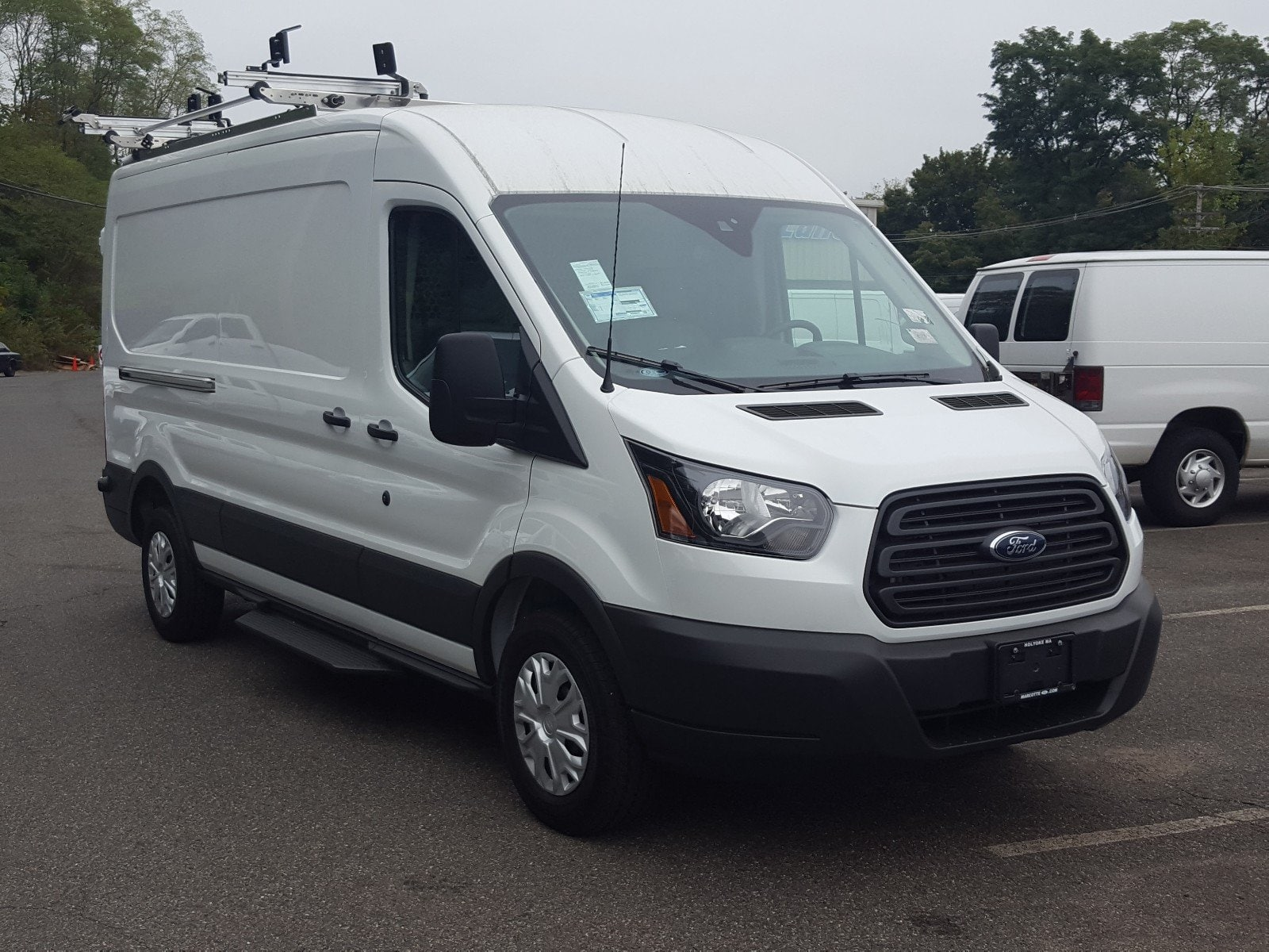 2017 Transit 250 Medium Roof, Adrian Steel Van Upfit #Q7677 - photo 8