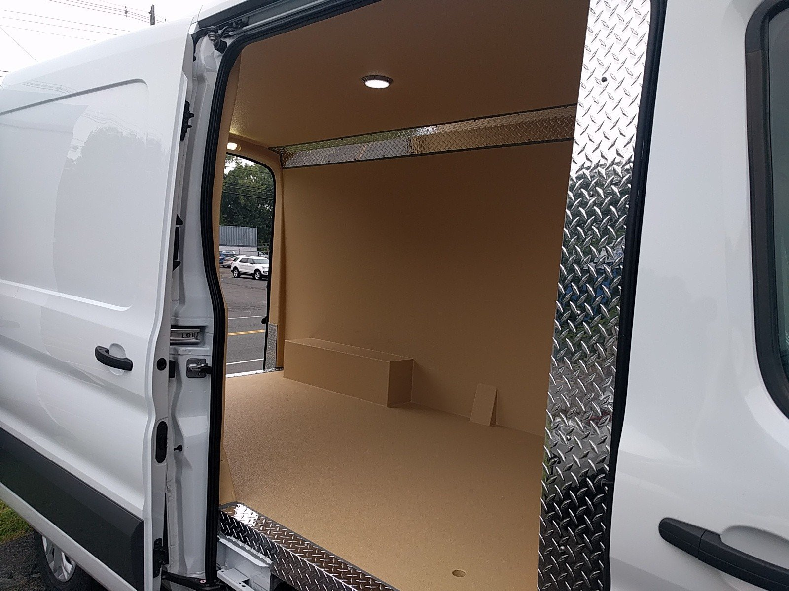 2017 Transit 250 Medium Roof Van Upfit #Q7722 - photo 3