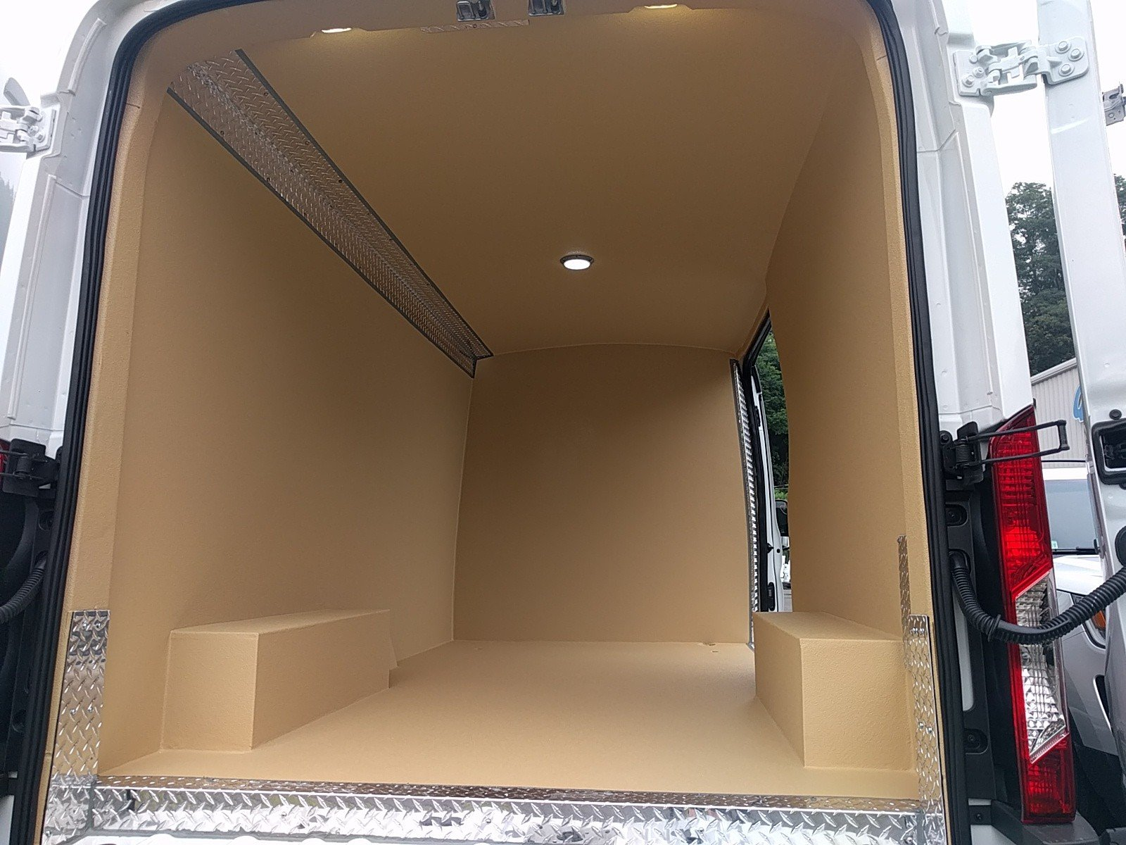 2017 Transit 250 Medium Roof Van Upfit #Q7722 - photo 2
