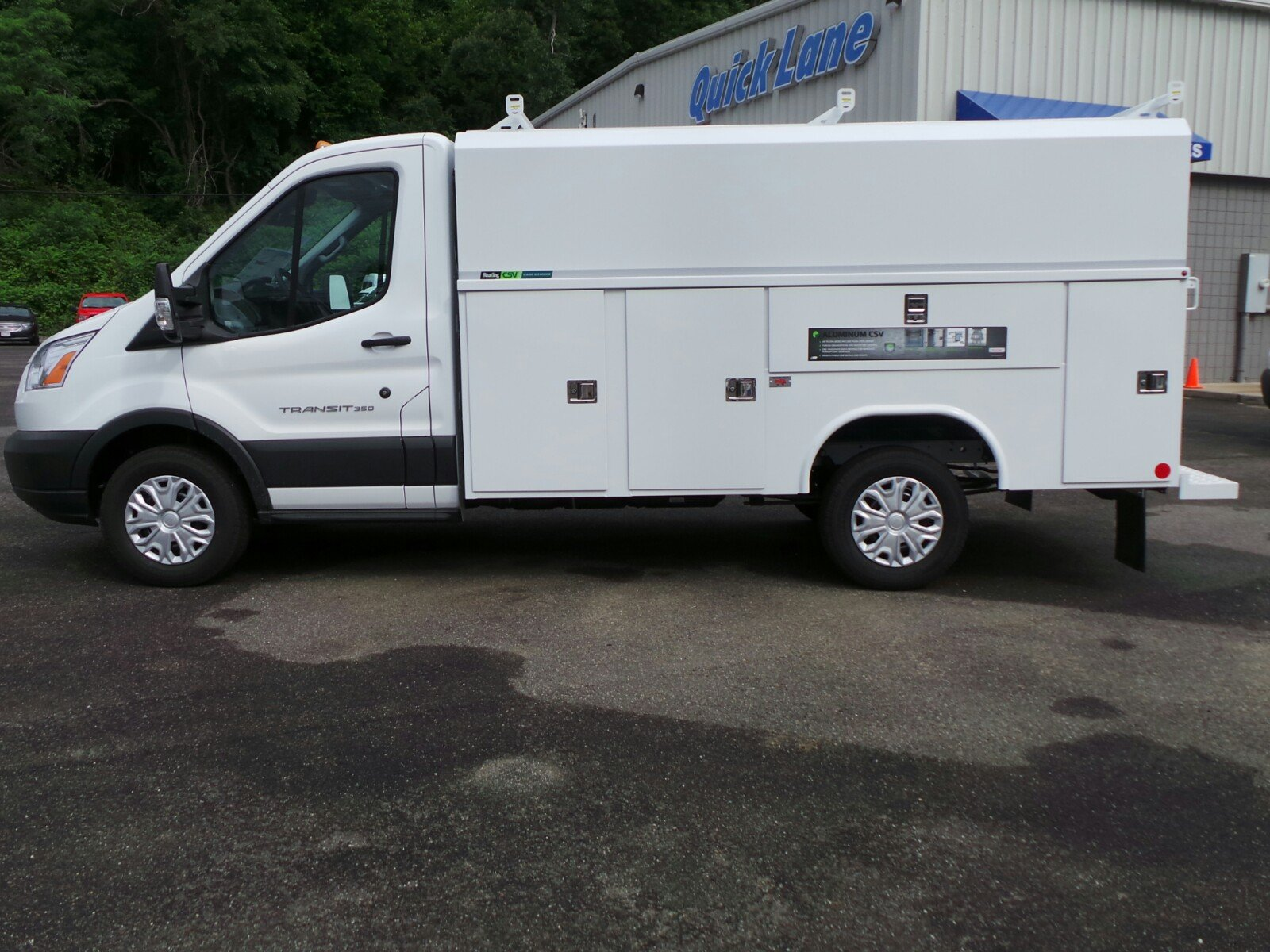 2017 Transit 350, Reading Aluminum CSV Service Utility Van #Q7740 - photo 3