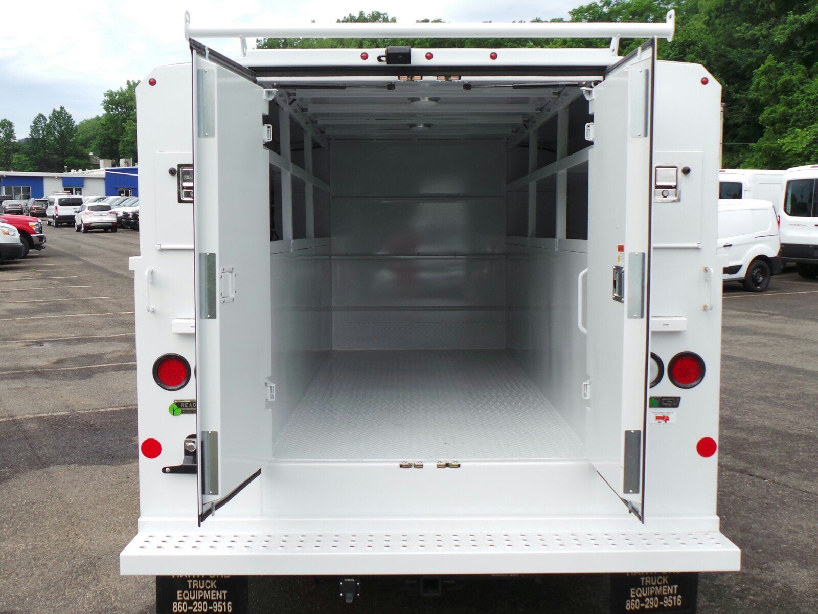 2017 Transit 350, Reading Aluminum CSV Service Utility Van #Q7740 - photo 16