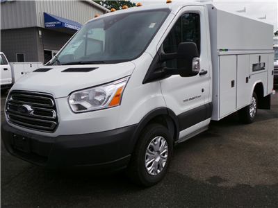 2017 Transit 350, Reading Aluminum CSV Service Utility Van #Q7740 - photo 1