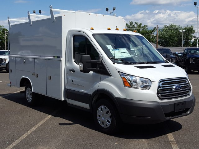 2017 Transit 350 Low Roof, Reading Service Utility Van #Q7765 - photo 7